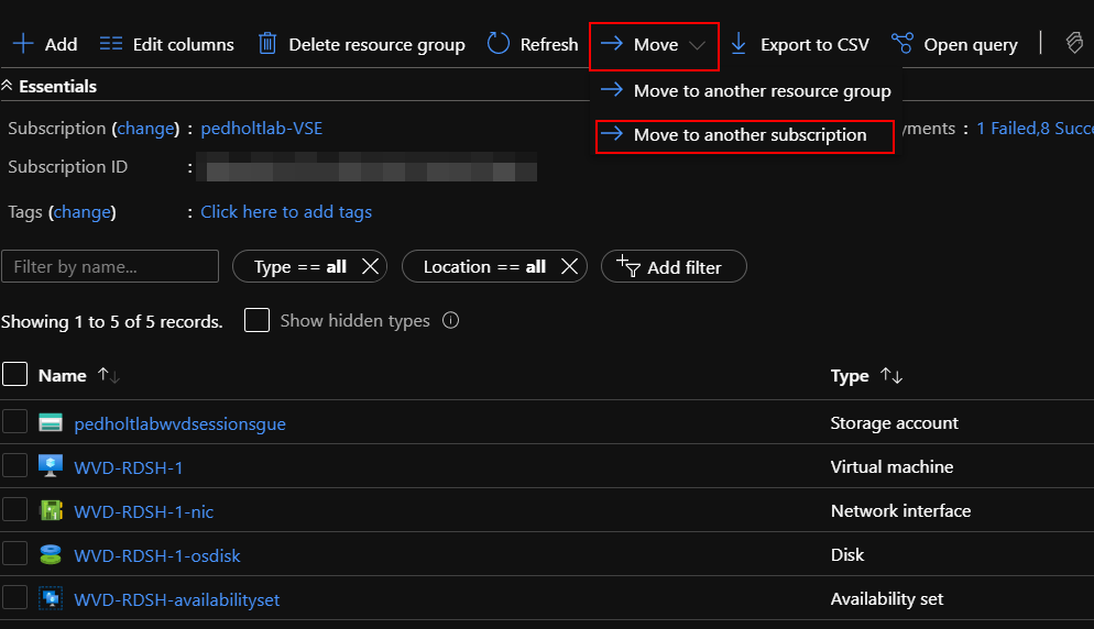 Migrate between Azure subscriptions like a pro